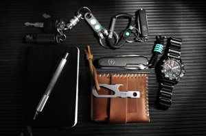 A sample Everyday Carry from www.everyday-carry.com