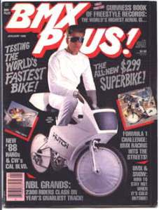 BMX PLUS cover January 1988